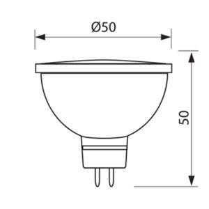 GU5,3 230V/3W