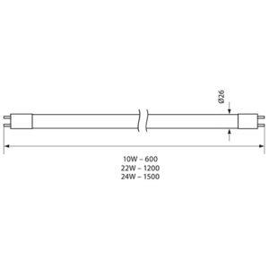 T8 LED (Φθορίου)