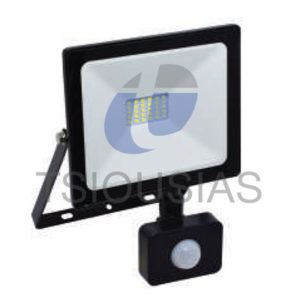 Προβολείς LED Extra-Slim 6400K με Ανιχνευτή Κίνησης